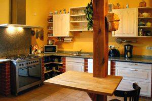 Küche Wassermühle Gollmitz