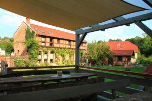 Terrasse an der Mühle