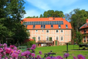 Garten Wassermühle Gollmitz